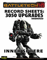 Record Sheets: 3050 Upgrade Unabridged, Inner Sphere