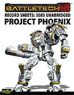 Record Sheets: 3085 Unabridged — Project Phoenix